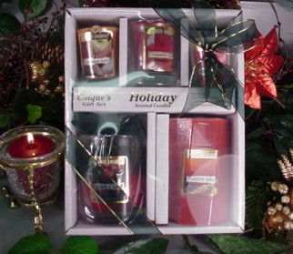 Holiday Candle Giftset